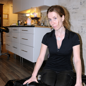 vejviser massage rødt hår